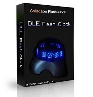 Модуль Flash-Clock для DataLife Engine