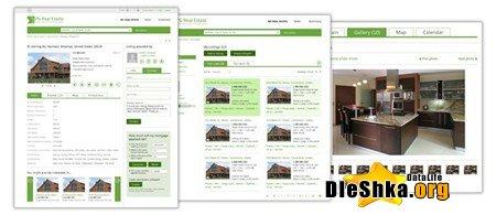 Скрипт сайта недвижимости PG Real Estate Solution 2013.01