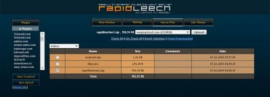 Модуль RapidLeecher v.2 rev.41 (FixeD)